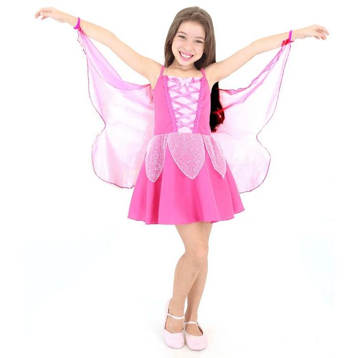 Fantasia infantil borboleta